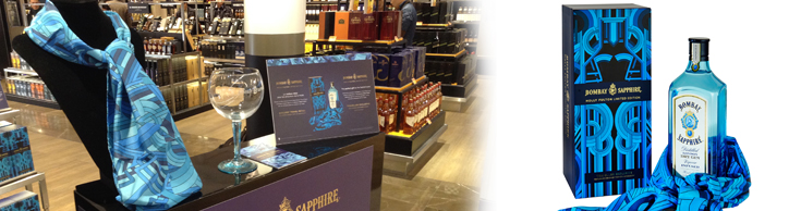 Bombay sapphire taps into international fashion weeks for Jim beam signature craft for sale