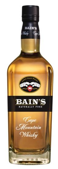 Gourmet week going for grain whisky for Bain s cape mountain whisky