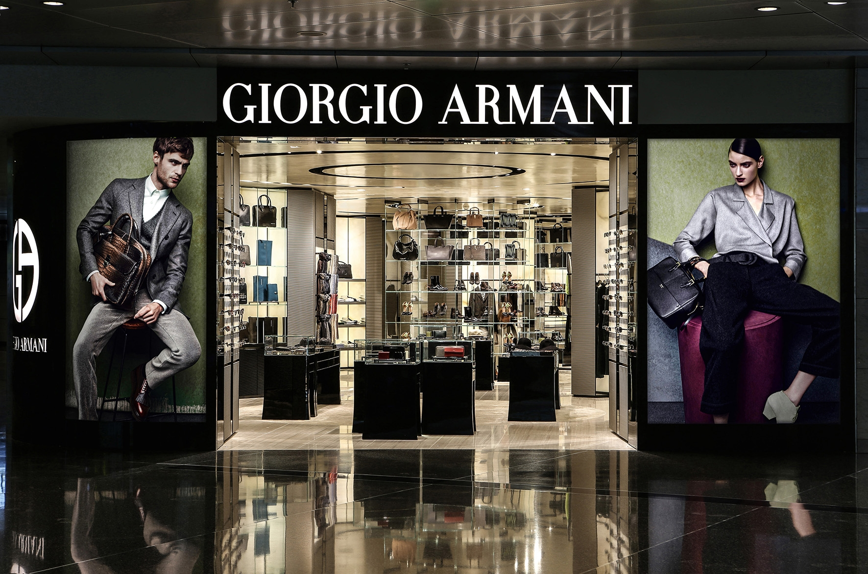 Armani Group Opens Two New Travel Retail Boutiques