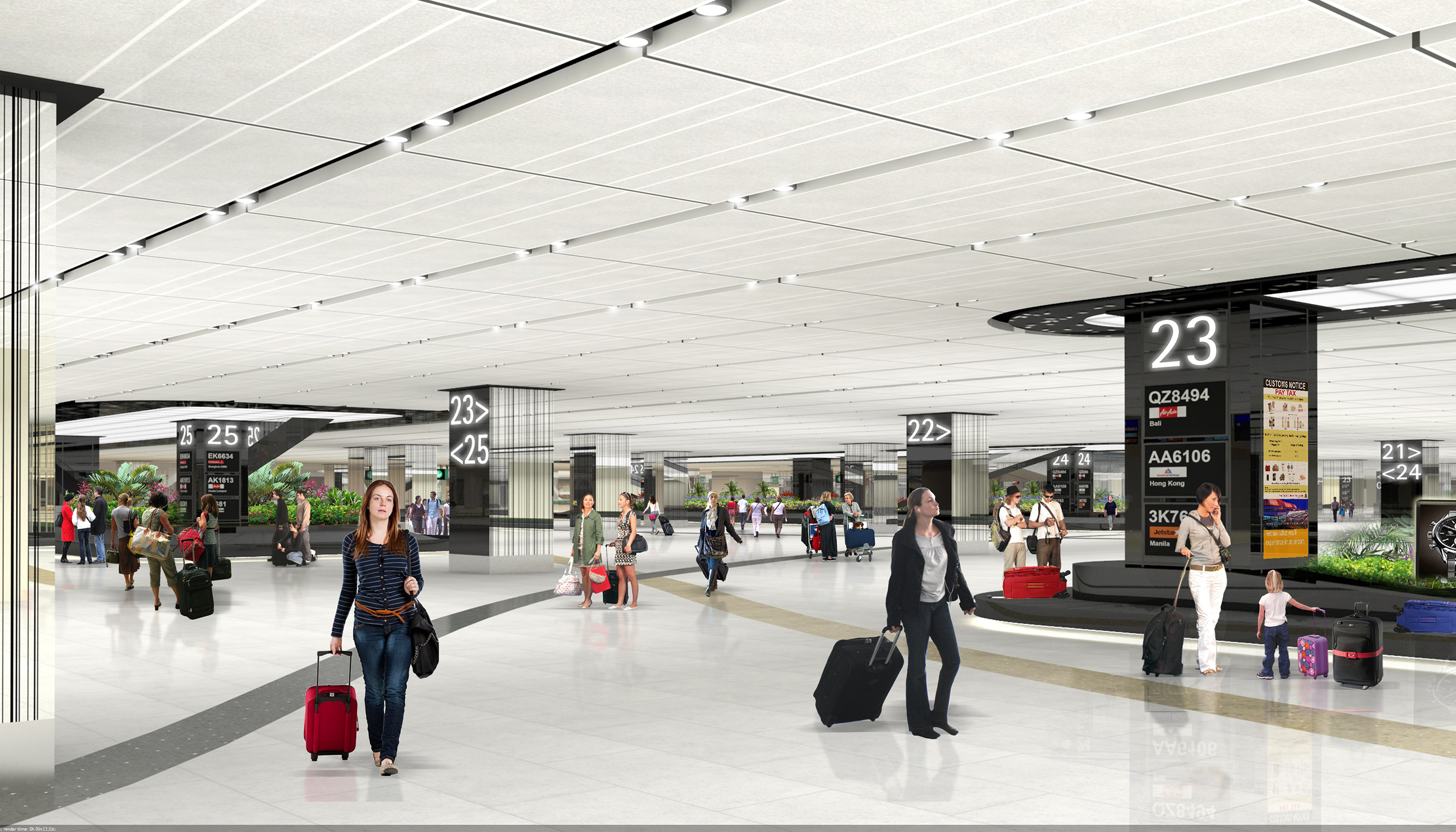 Changi Airport Breaks New Ground With Jewel In Pictures