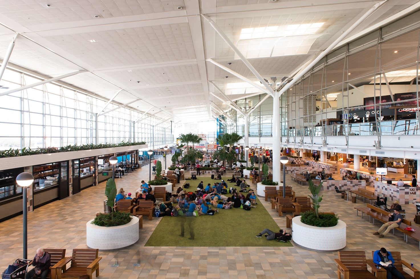 Home Design Stores Atlanta Brisbane Airport Breaks The Mould With New International