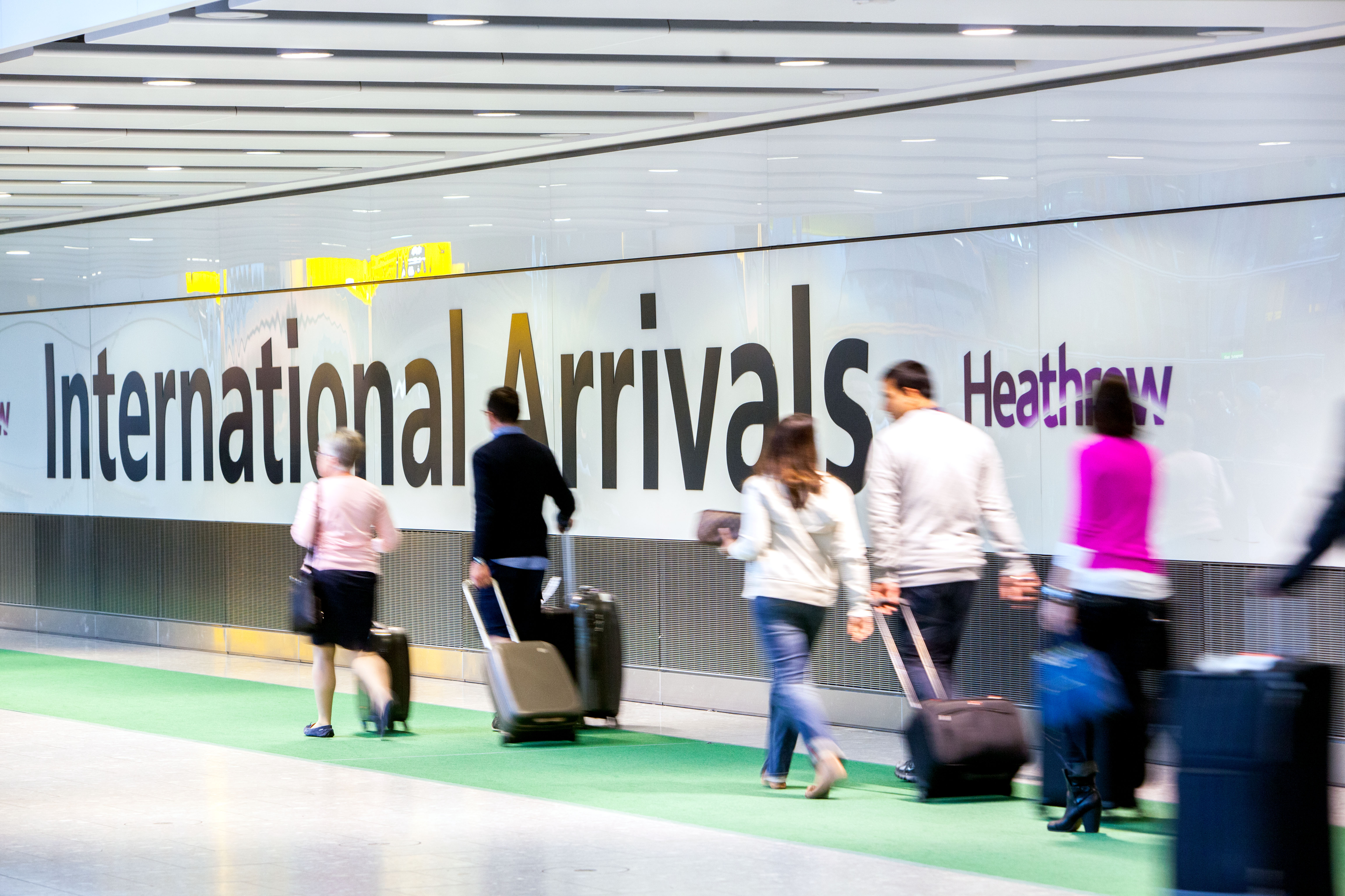 Major retail review planned at heathrow airport heathrow airport terminal 5a main terminal building arrivals concourse may 2013 m4hsunfo