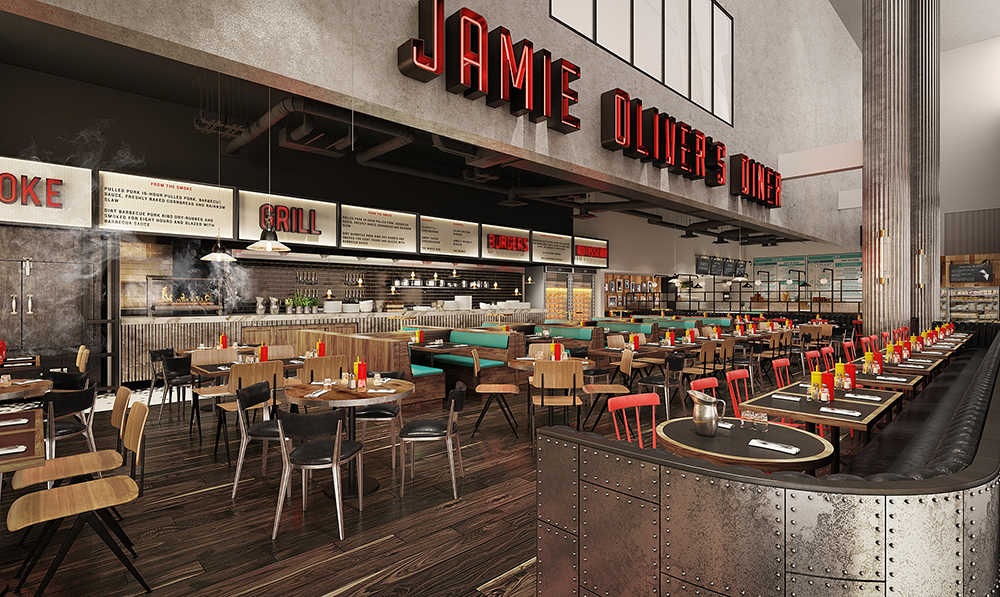 Jamie oliver brings flagship restaurant the diner to gatwick - Cuisine jamie oliver ...