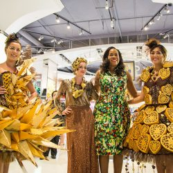Godiva hits the runway at chocolate fashion show