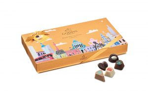 The Wonderful City Dreams  honours the home cities of Godiva's chef chocolatiers