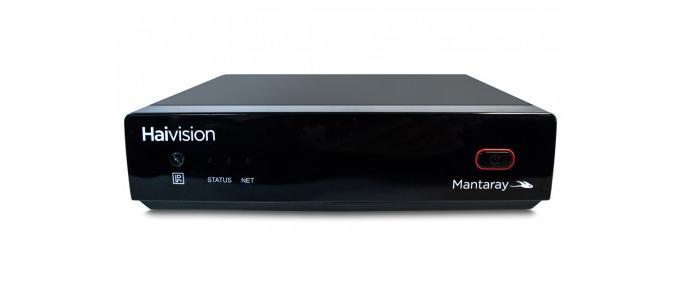 Haivision introduces Mantaray digital signage player