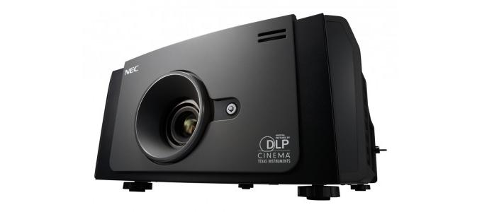 NEC adds digital cinema projector with NSH dual-lamp system lamps to range
