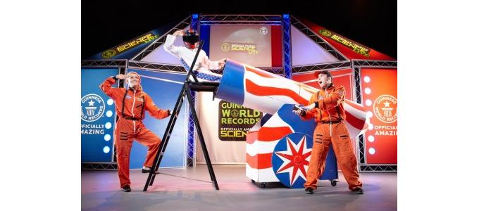 XL Events supplies AV for Guinness World Records 'Officially Amazing Science Live!'