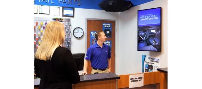 Harris involved in digital signage rollout for Automotive Broadcasting Network