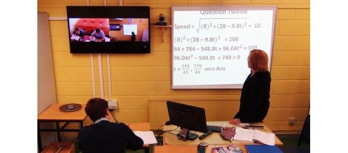 Rural schools use HD vcon to boost learning