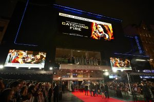 NEC LED videowall at 'The Hunger Games: Catching Fire' premiere