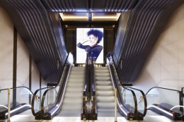 This latest generation of digital media follows on from the previous escalator redevelopment on Hans Ro