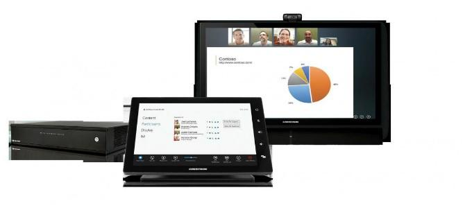 Crestron and Polycom partner on group collaboration system