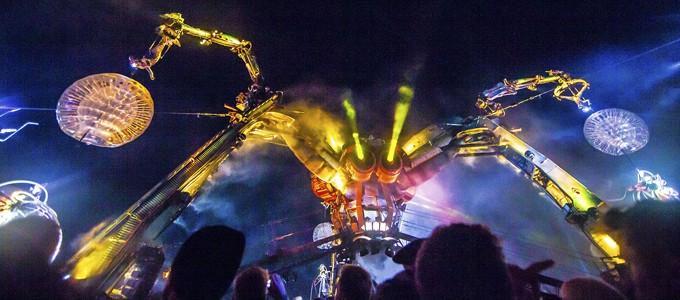 Colour Sound Experiment's Glastonbury spectacular