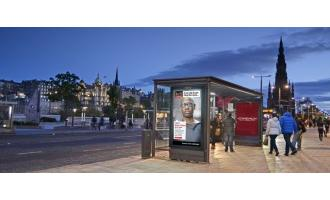 JCDecaux launches Out-of-Home locations across Edinburgh