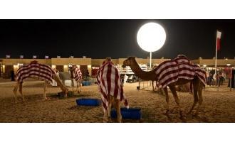Airstar shines bright at Qatar National Day