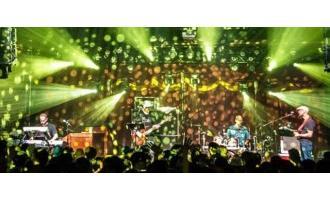 Monster concert light show features Chauvet Intimidators