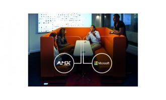AMX and Microsoft integrate Surface Hub with AMX meeting room control ecosystem