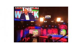 XL Video supplies screens for Mock The Week