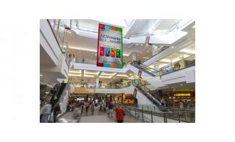 Nanolumens transforms shopping mall atrium