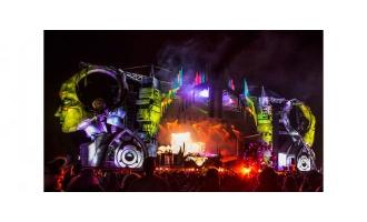 Electric Forest Festival stage experiences Elation LED colour
