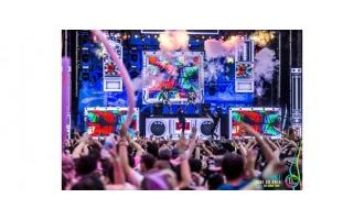 Chauvet is life and soul of the world's largest paint party