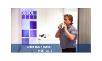 Industry pays tribute to CDEC's Andy Duckworth