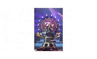 Foo Fighters front man mounts MagicDot throne