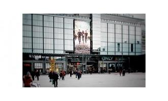 Helsinki shopping centre powers 14.4m LED screen with Matrox video display cards