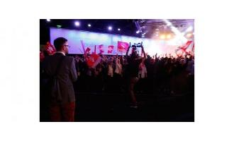 Swiss bank hosts huge employee conference using Riedel AV infrastructure