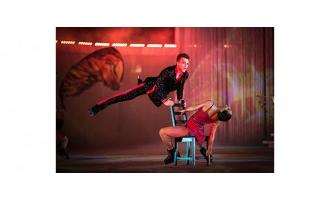 SGM supports intimate ice show with light and shadows