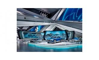 Wings Engine Raw powers award-winning Audi stand at Frankfurt motor show