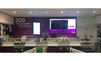 GAME installs 1,320 BrightSign digital signage players
