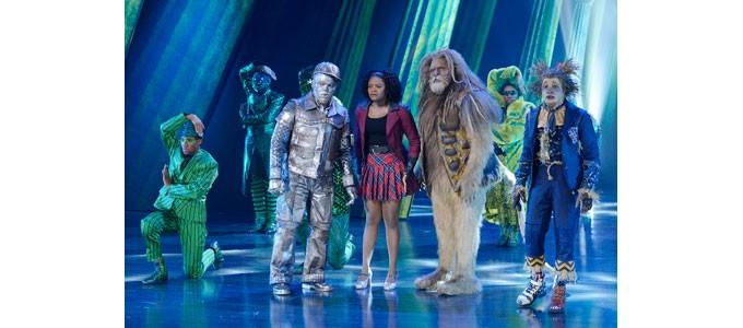 d3 creates LED backdrop for live Wizard of Oz remake