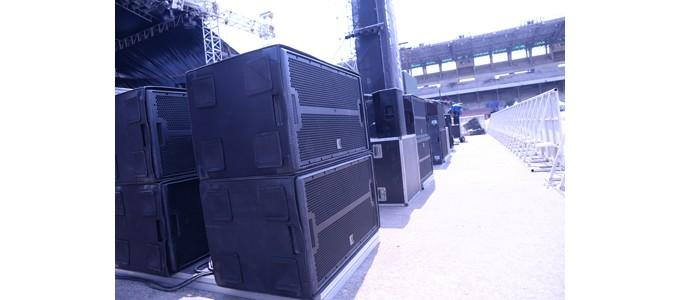 Audio sensation at Africa's largest concert