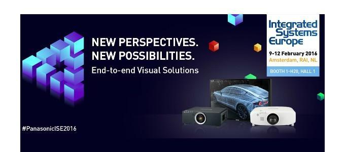 Panasonic brings the brightness to ISE 2016