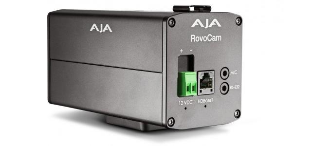 ISE 2016: AJA Video Systems introduces RovoCam