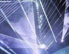 ER stages giant laser show in Milan for Samsung launch