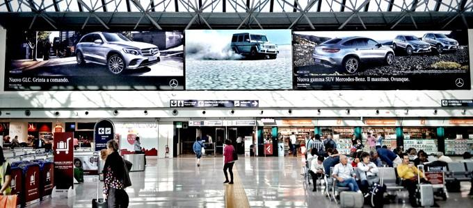Clear Channel and Absen unite to make Rome Fiumicino a digitised airport