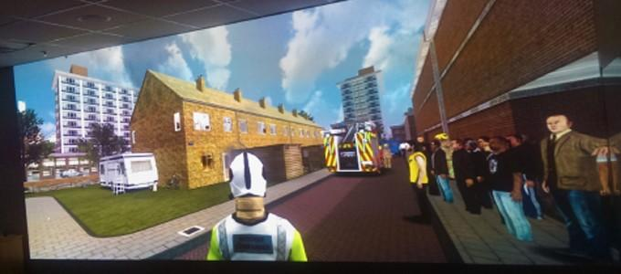 Durham Fire Service relies on Optoma for training simulation