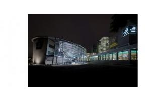 LEDs help highlight Van Gogh Museum's new entrance building
