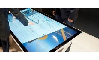 NEC adds touch table display capabilities to 55- and 65-inch Ultra High Definition InGlass touch displays