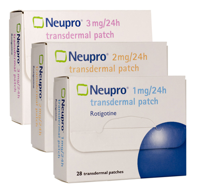 New Restless Legs Syndrome indication for Neupro