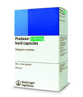 Dabigatran etexilate pradaxa 75 mg cap