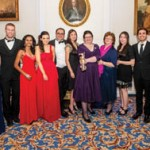 Winners of the Student Project of the Year 2013, from the RCSI, for its 'International Conference for Healthcare and Medical Students (ICHAMS) (l-r): Nikita Rane; Daniel Creegan; Layveeniea Anathan; Rebecca Horgan;  Jeffrey Nafash; May-Anh Nguyen; Dr Sarah O'Neill; Prof Hannah McGee; Young Hwa Soon; Sami Buckley and Vincent Healy