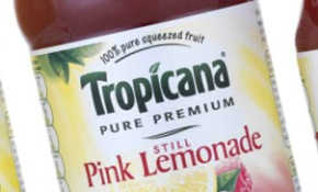 Tropicana Lemonade designed by SiebertHead