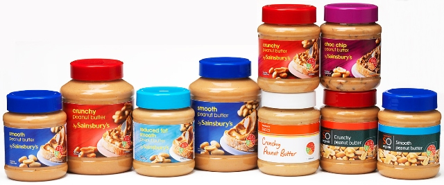 Photo of Peanut butter group shot