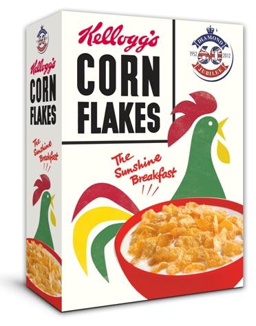 Photo of Vintage Cornflake box 3D.1