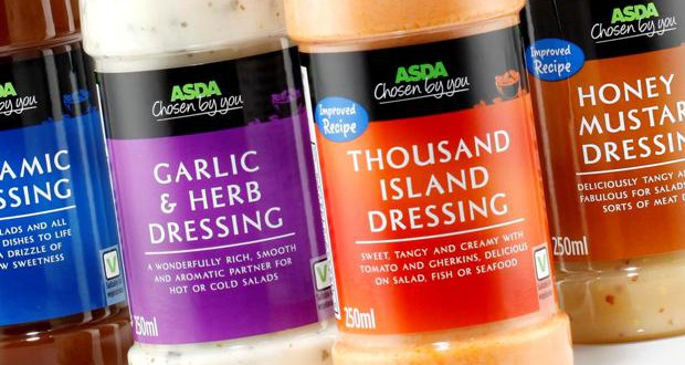 Asda Switches Chosen By You Salad Dressings From Glass To Pet