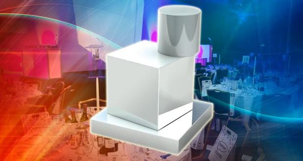 UK Packaging Awards trophy
